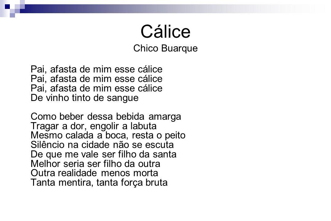Cálice Chico Buarque