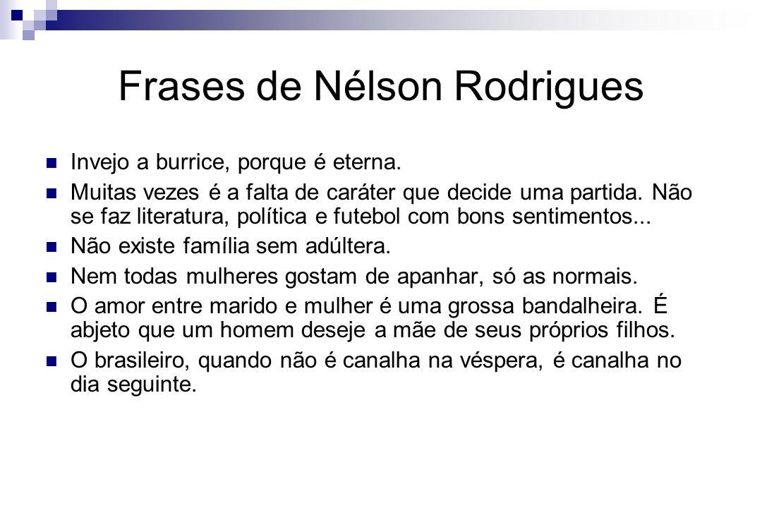 Frases de Nélson Rodrigues