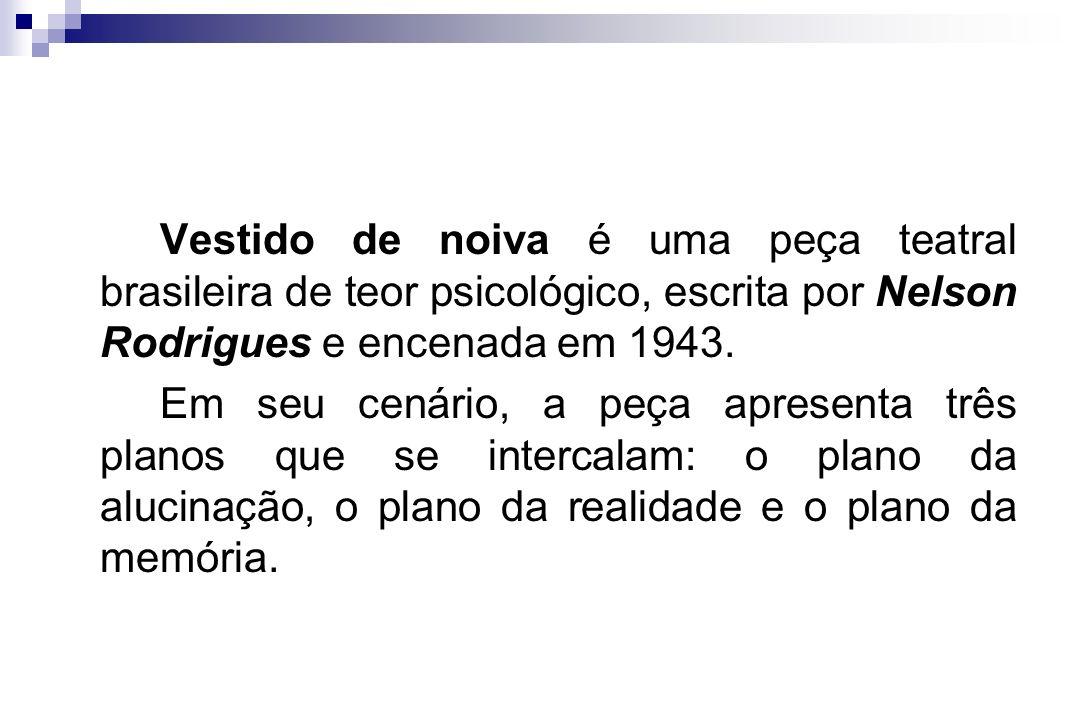 Vestido de noiva é uma peça teatral brasileira de teor psicológico, escrita por Nelson Rodrigues e encenada em 1943.