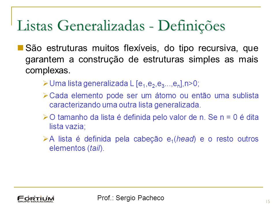 Listas Generalizadas - Definições