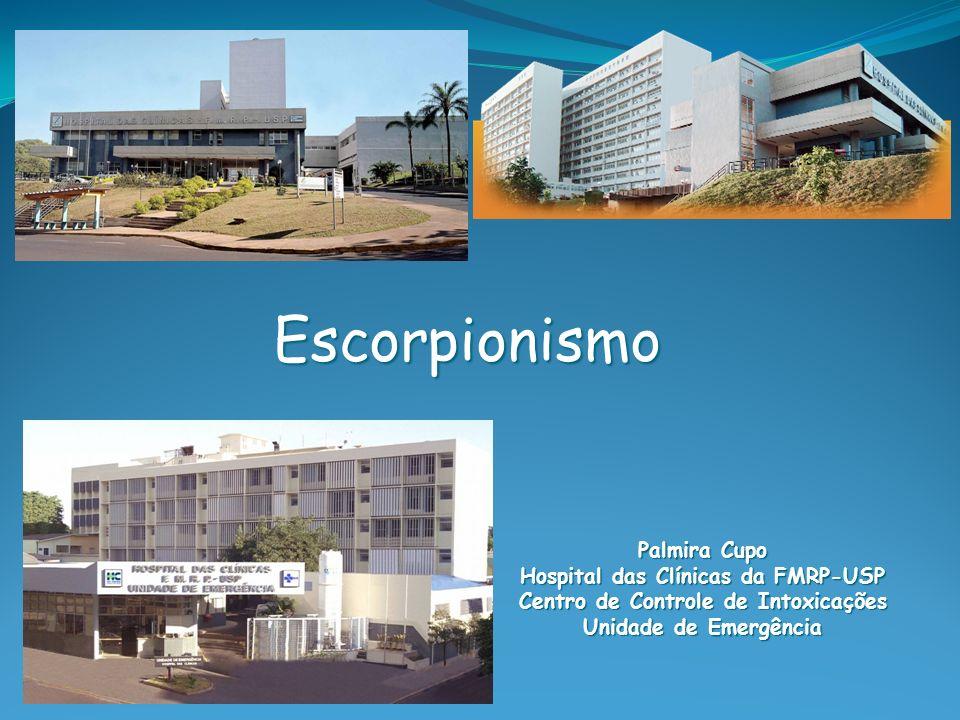 Hospital das Clínicas da FMRP-USP Centro de Controle de Intoxicações