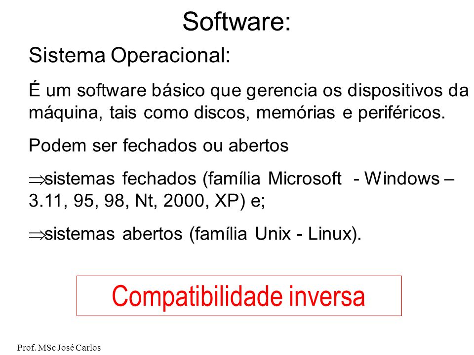 Compatibilidade inversa