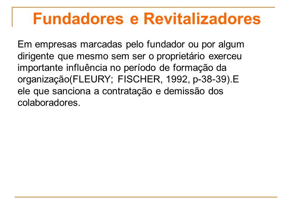 Fundadores e Revitalizadores