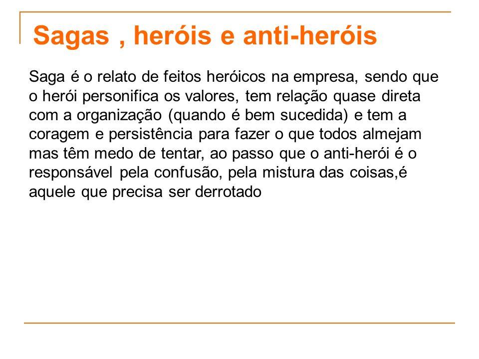 Sagas , heróis e anti-heróis