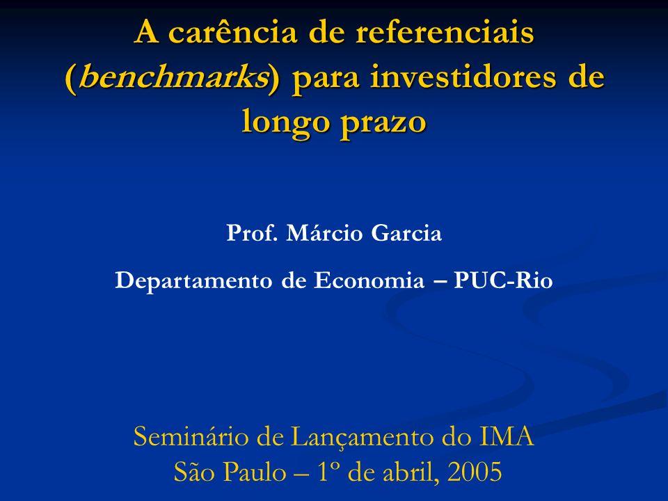 Departamento de Economia – PUC-Rio