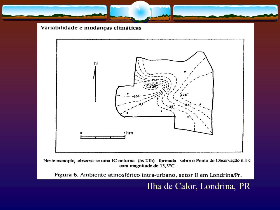 Ilha de Calor, Londrina, PR