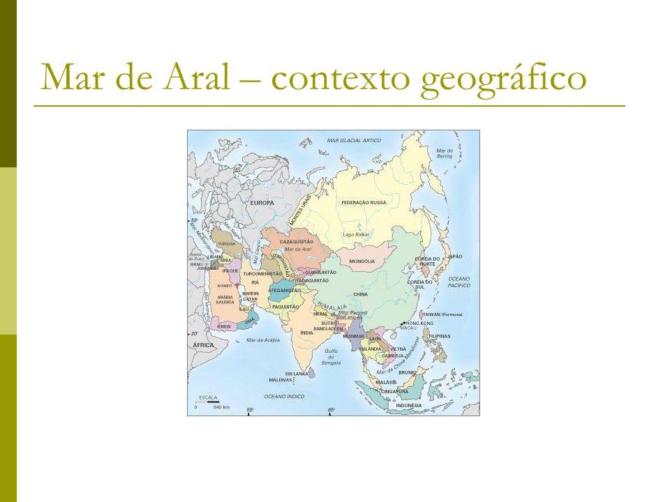 Mar de Aral – contexto geográfico