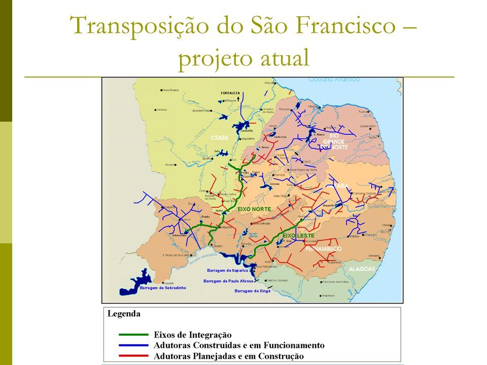 Transposição do São Francisco – projeto atual