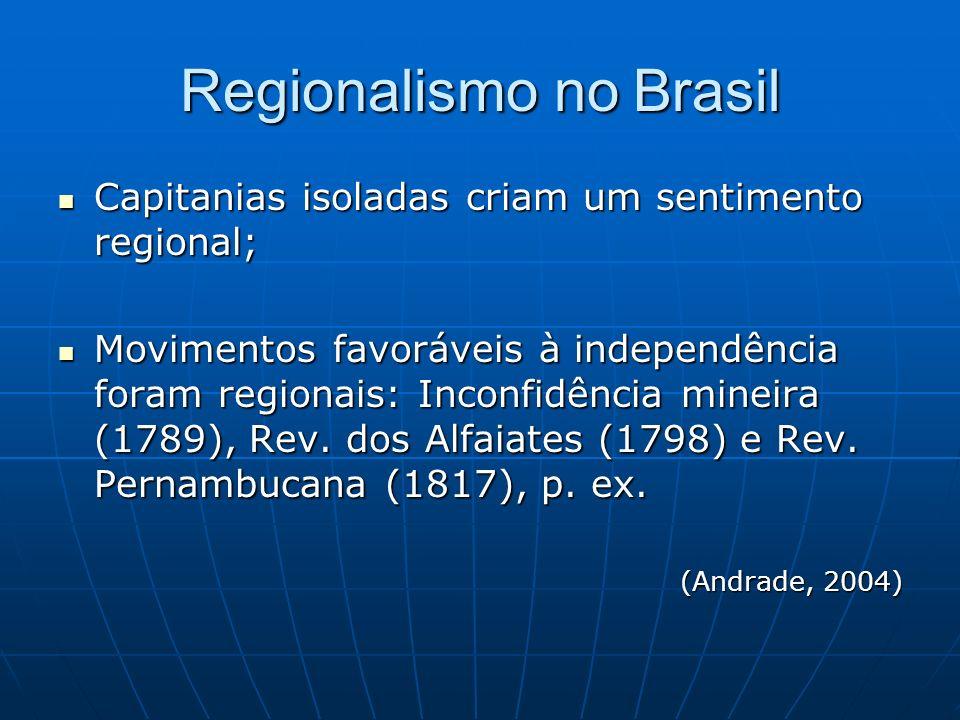 Regionalismo no Brasil