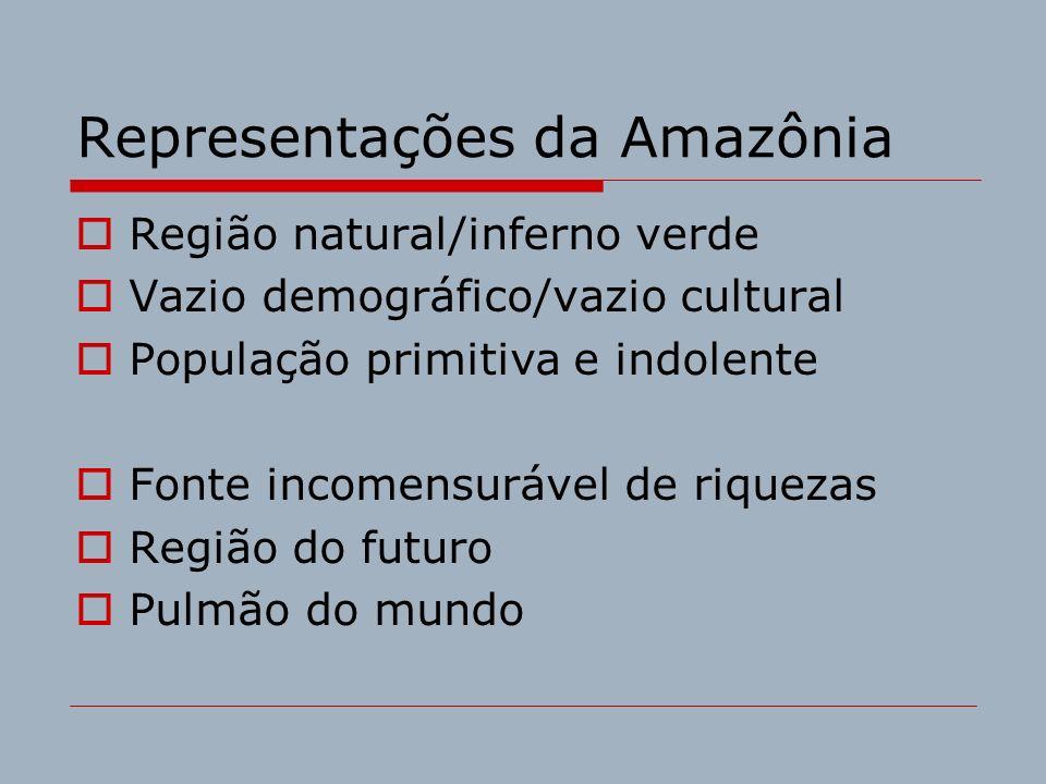 Representações da Amazônia