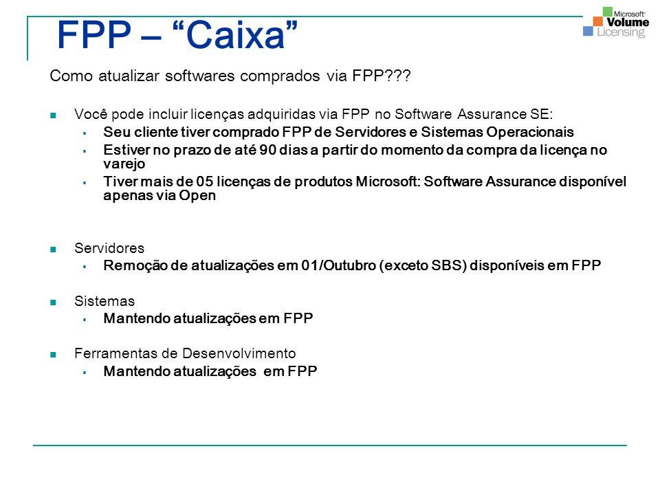 FPP – Caixa Como atualizar softwares comprados via FPP