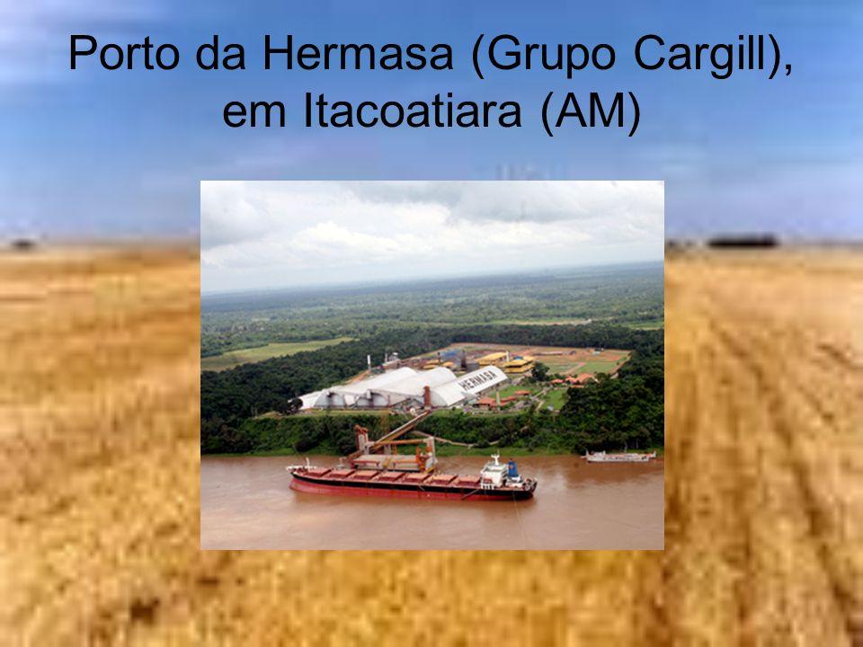 Porto da Hermasa (Grupo Cargill), em Itacoatiara (AM)