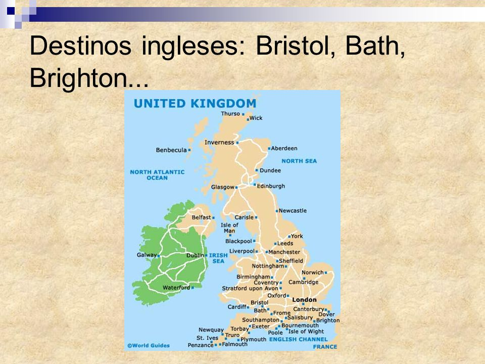 Destinos ingleses: Bristol, Bath, Brighton...