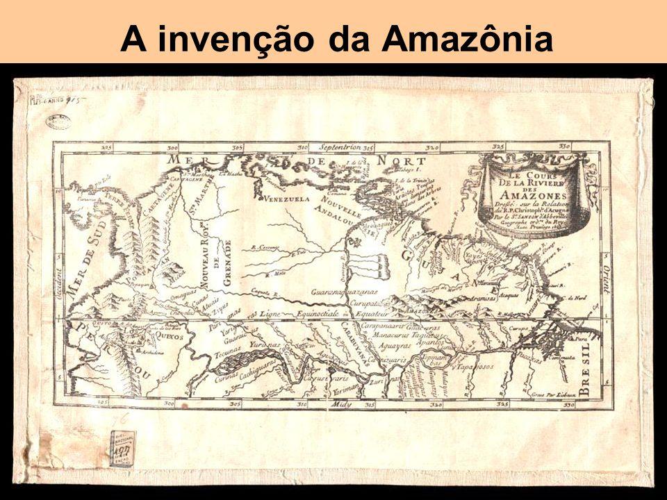 A invenção da Amazônia Um dos poucos casos de erro histórico e geográfico que permanece até hoje (com West Indies e Indios / Indígenas )