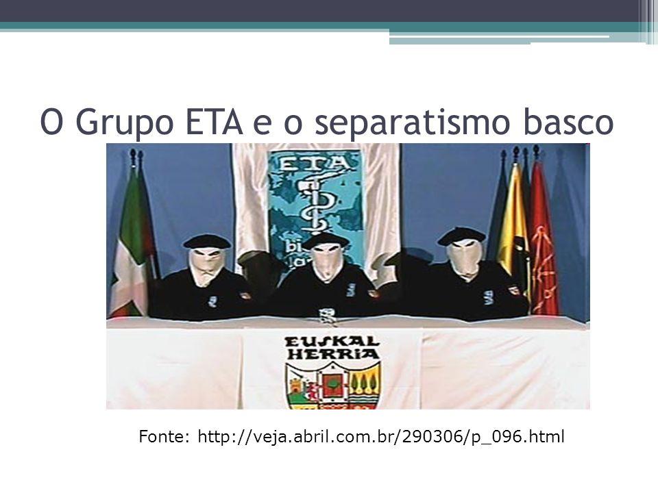 O Grupo ETA e o separatismo basco