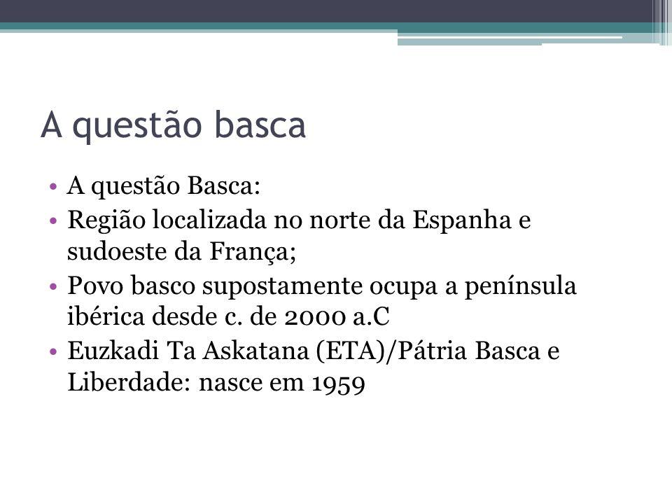 A questão basca A questão Basca: