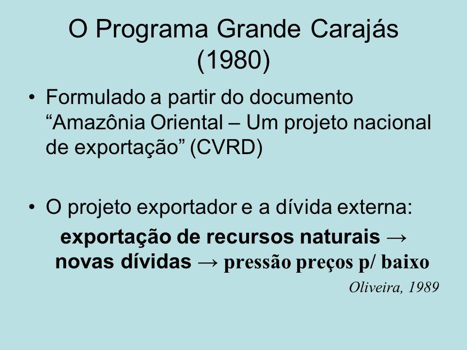 O Programa Grande Carajás (1980)