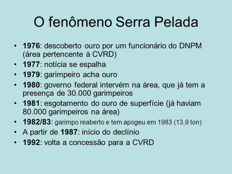 O fenômeno Serra Pelada