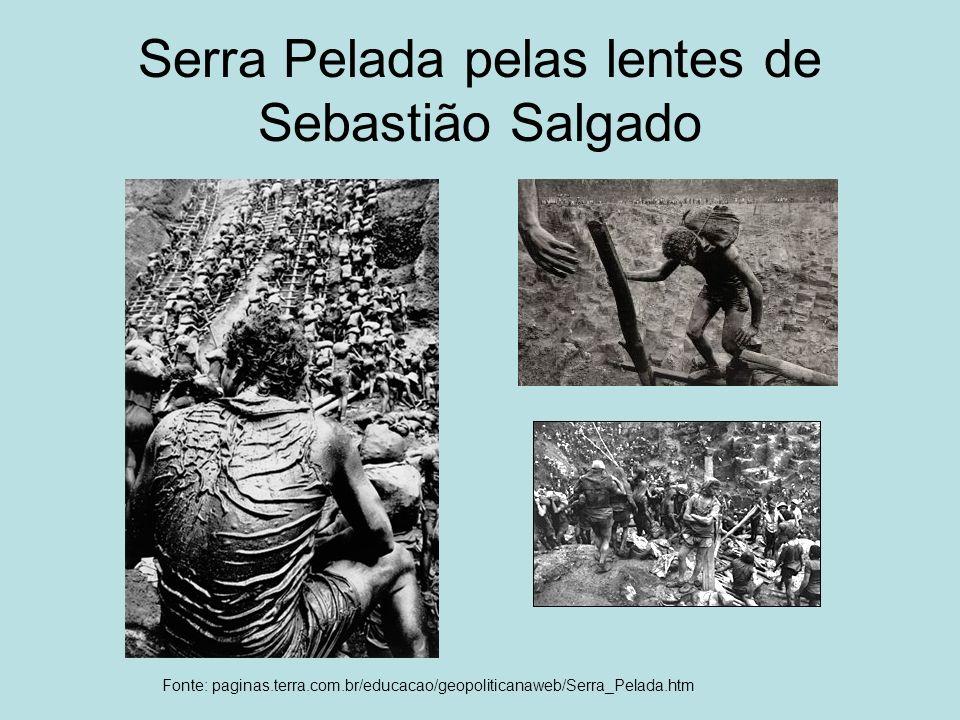 Serra Pelada pelas lentes de Sebastião Salgado