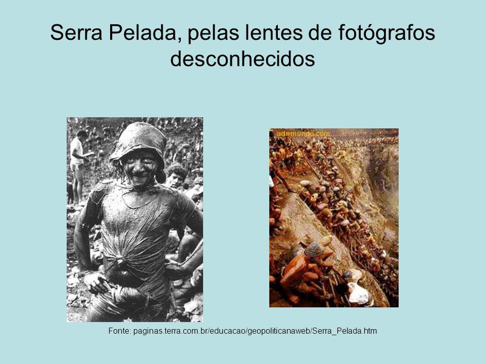 Serra Pelada, pelas lentes de fotógrafos desconhecidos