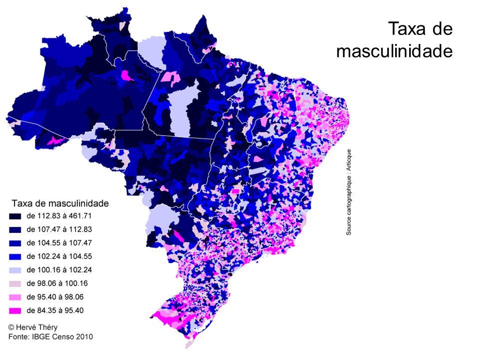 Taxa de masculinidade