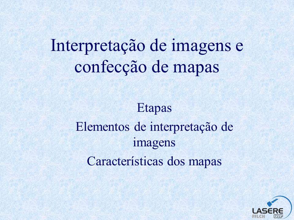 Interpretação de imagens e confecção de mapas