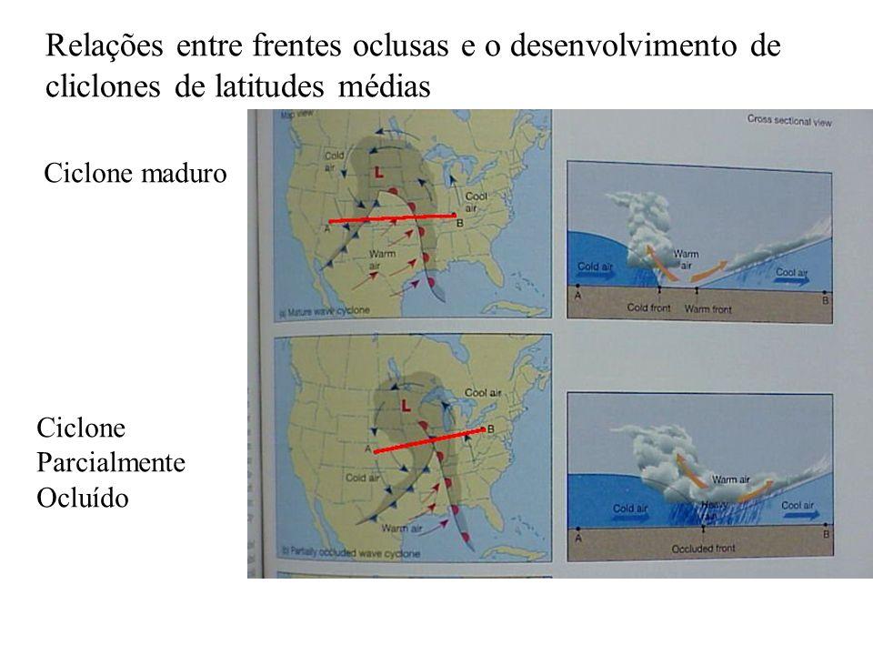 Relações entre frentes oclusas e o desenvolvimento de cliclones de latitudes médias