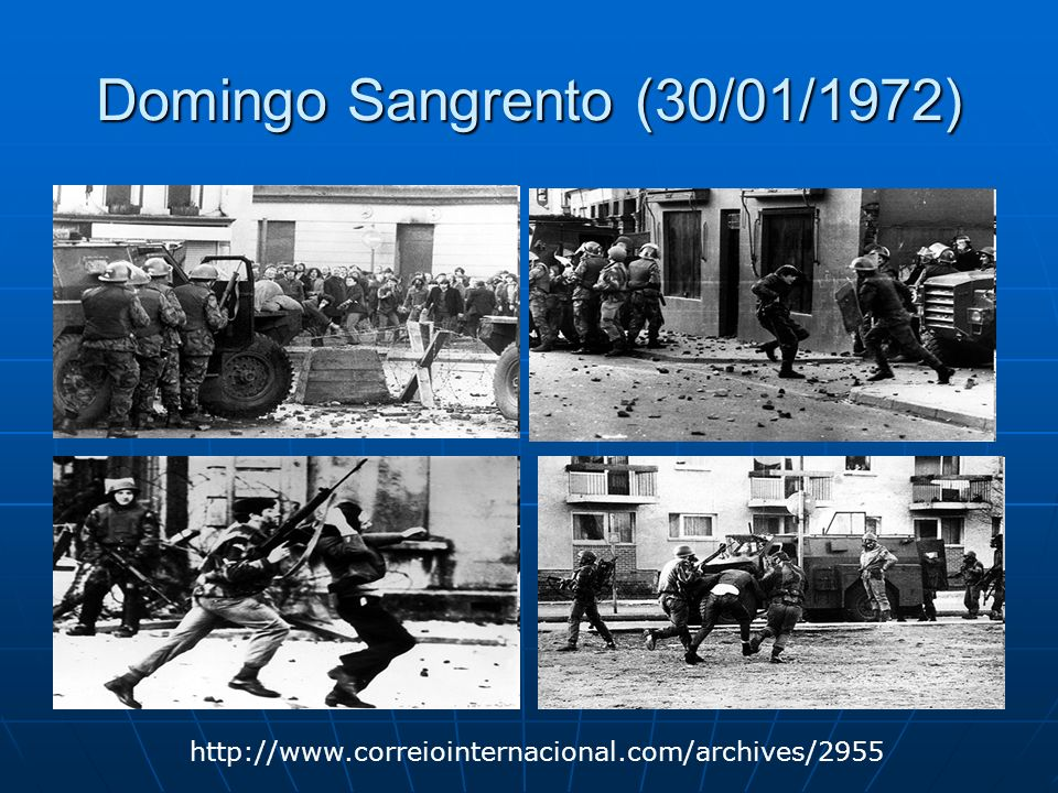 Domingo Sangrento (30/01/1972)