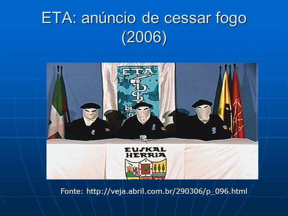 ETA: anúncio de cessar fogo (2006)