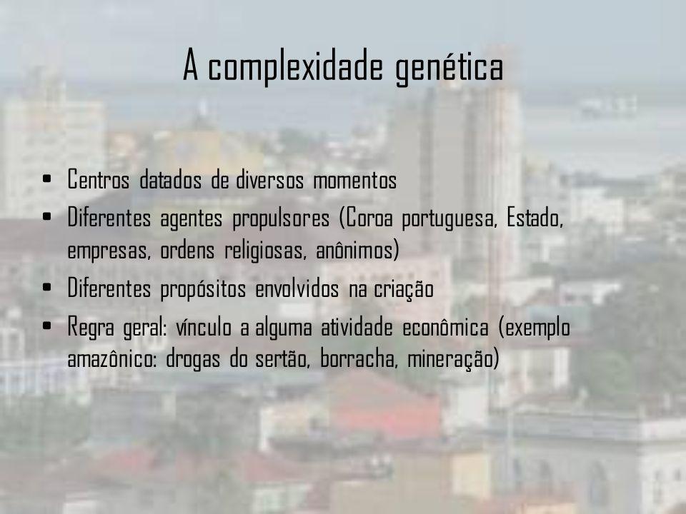 A complexidade genética
