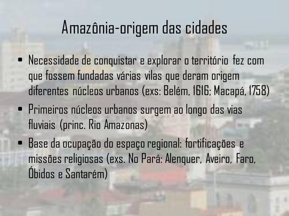 Amazônia-origem das cidades
