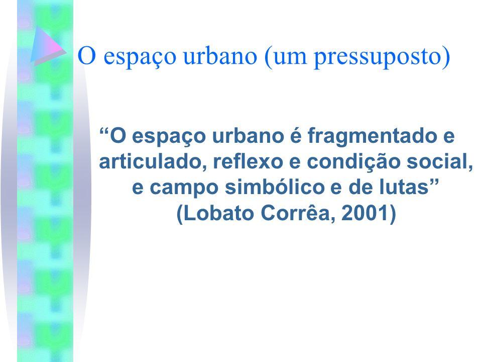 O espaço urbano (um pressuposto)