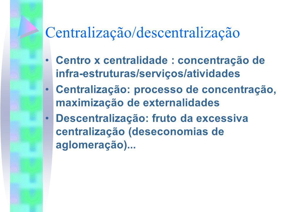 Centralização/descentralização