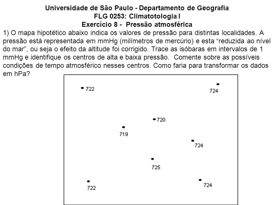 Universidade de São Paulo - Departamento de Geografia