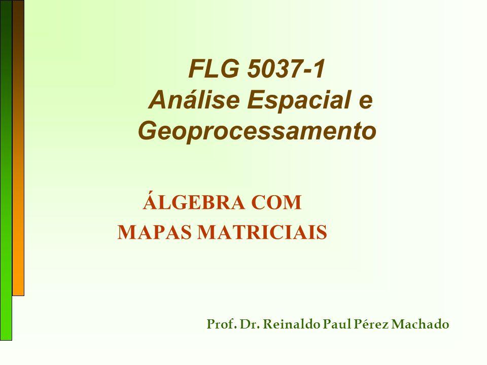 FLG 5037-1 Análise Espacial e Geoprocessamento