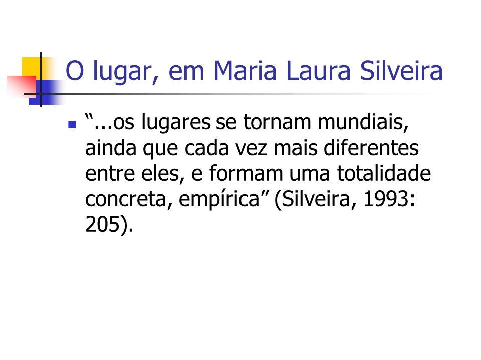 O lugar, em Maria Laura Silveira