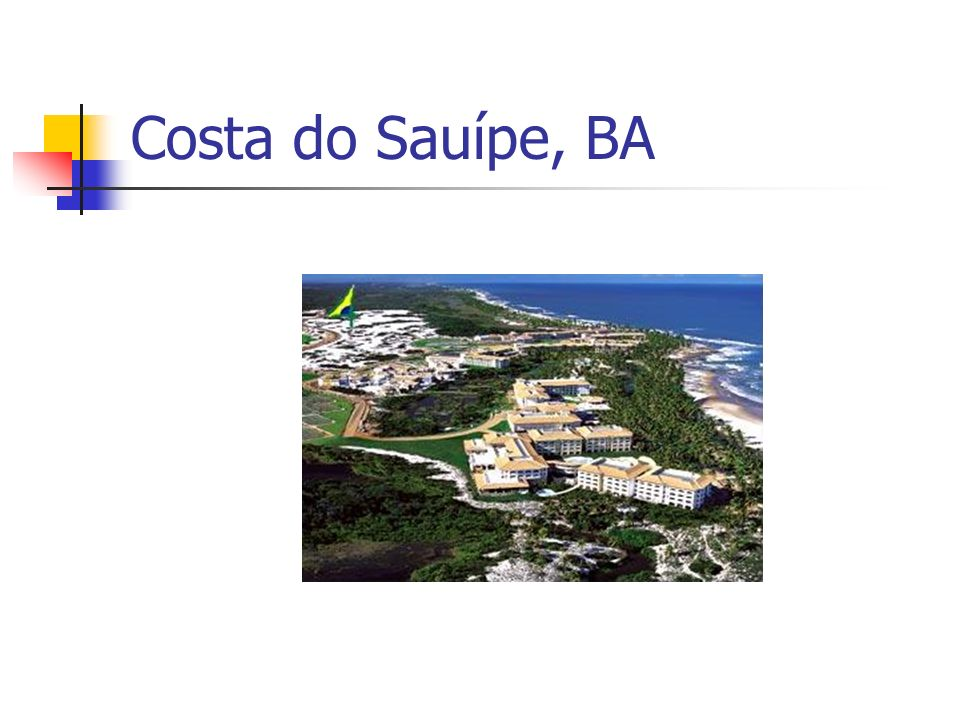 Costa do Sauípe, BA