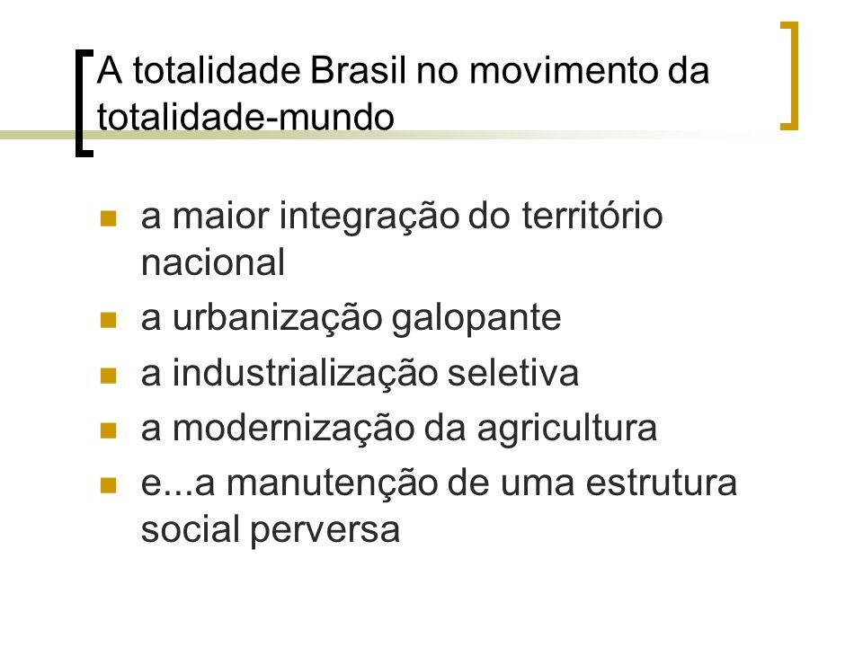 A totalidade Brasil no movimento da totalidade-mundo