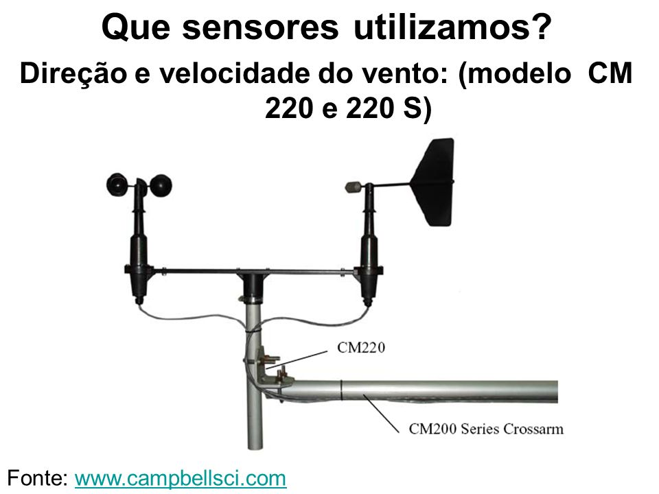 Que sensores utilizamos
