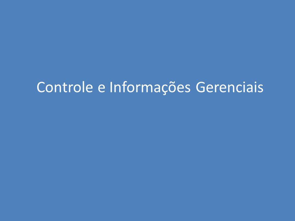 Controle e Informações Gerenciais