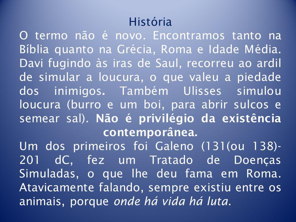 História O termo não é novo