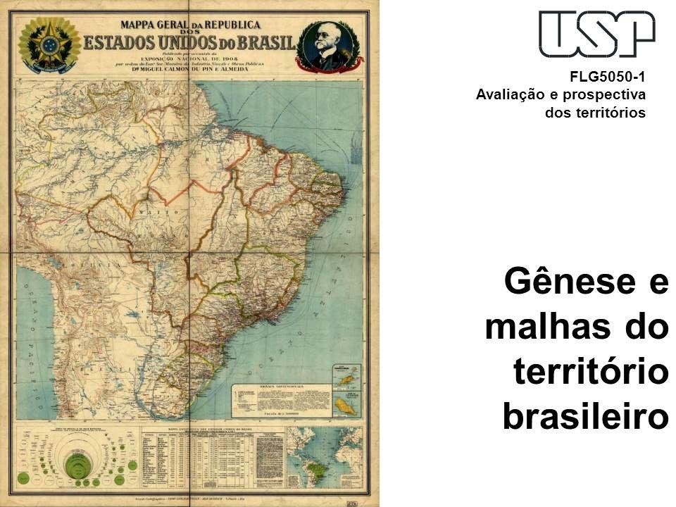 Gênese e malhas do território