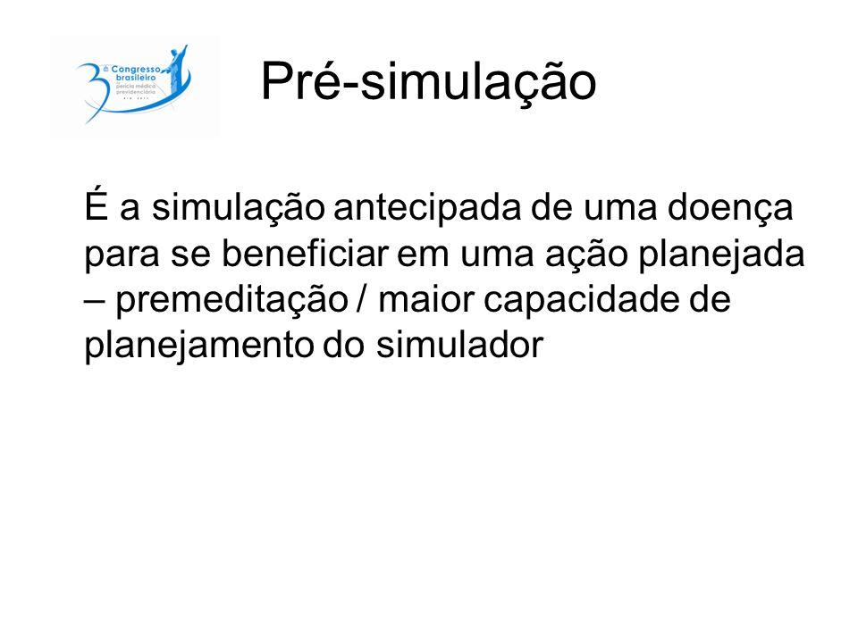 Pré-simulação