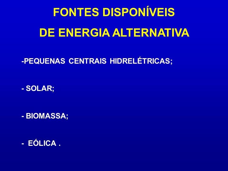 DE ENERGIA ALTERNATIVA