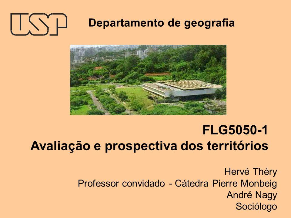Avaliação e prospectiva dos territórios