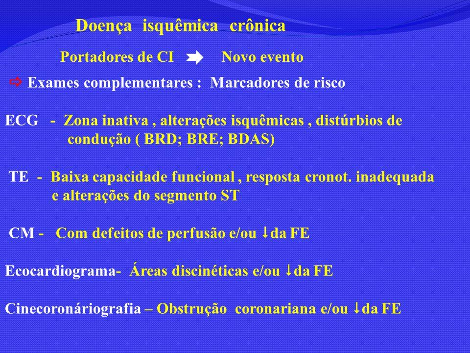Doença isquêmica crônica