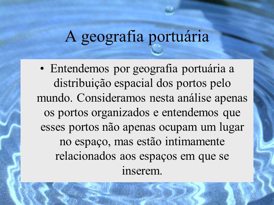 A geografia portuária