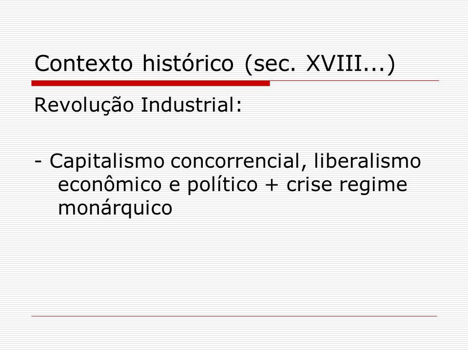 Contexto histórico (sec. XVIII...)
