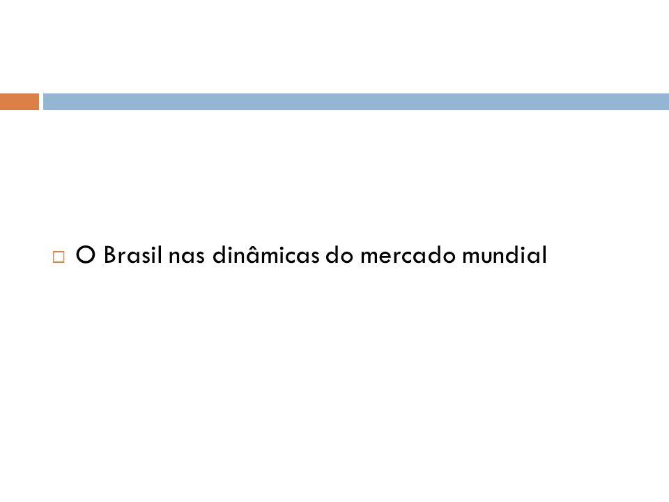 O Brasil nas dinâmicas do mercado mundial
