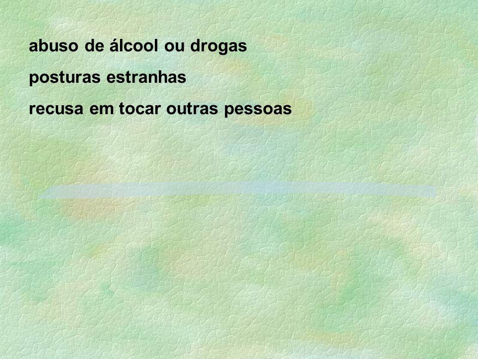 abuso de álcool ou drogas